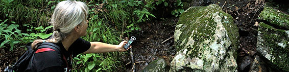 Waterfall audio recording