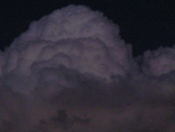 Photo: clouds after sunset